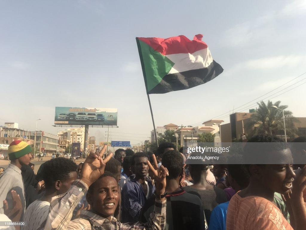 Protests in Sudan : Nieuwsfoto's