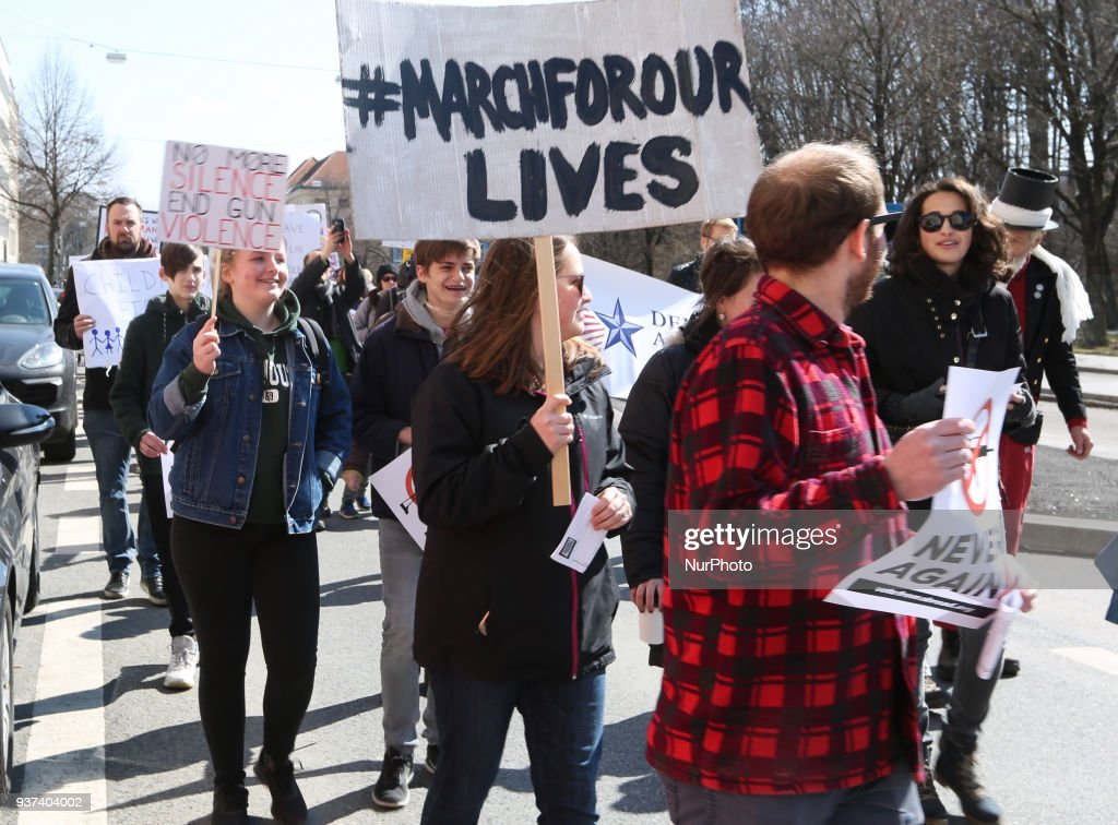 'March For Our Lives' Rally In Munich