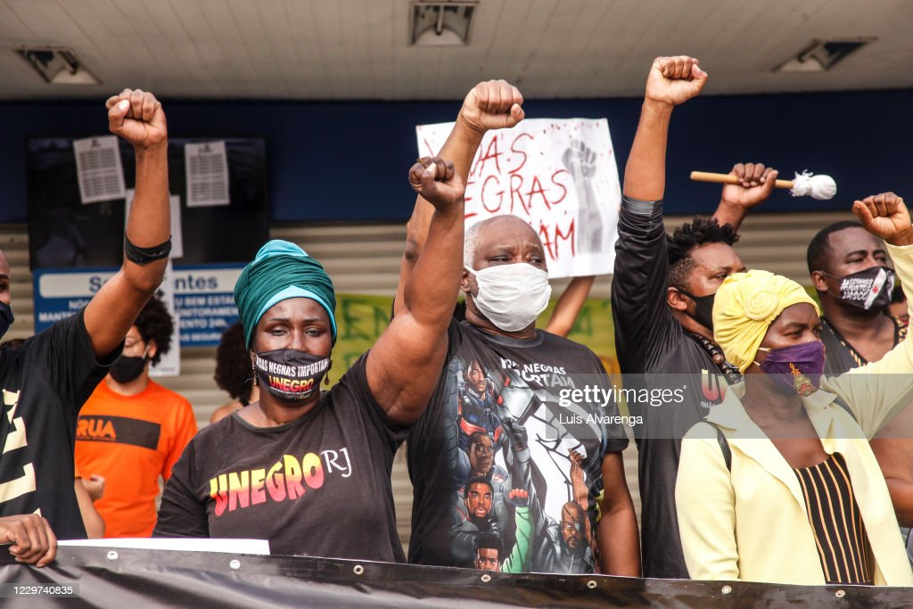 Protests Erupt Against Racism Amidst the Coronavirus (COVID 19) Pandemic : News Photo