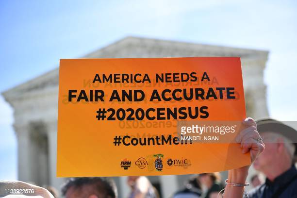 DC: Supreme Court Considers Whether Trump Administration Can Include Citizenship Question On Census
