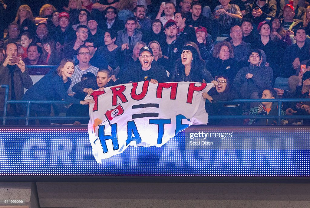 Security Concerns Postpone Trump Rally : News Photo