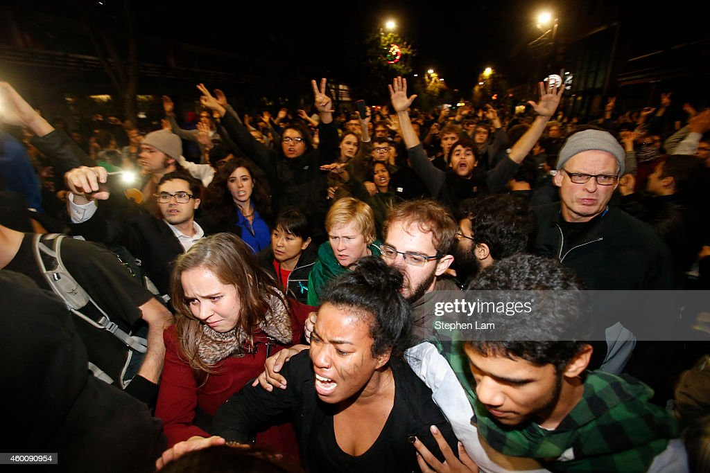 Demonstrations Over Recent Grand Jury Decisions In Police-Involved Deaths Continue : News Photo