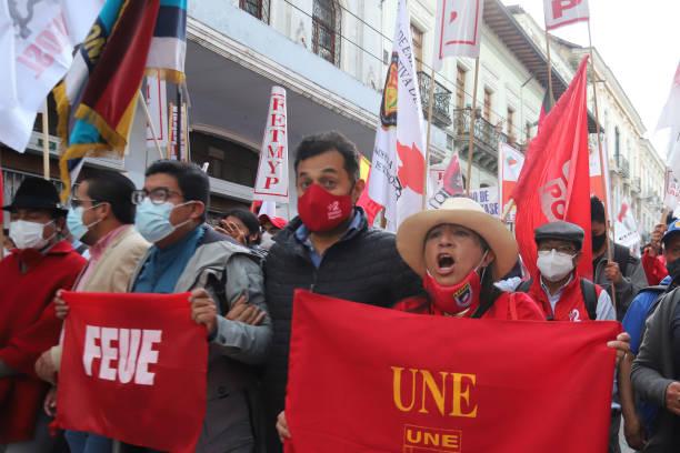 ECU: Ecuadorians Protest Against President Guillermo Lasso