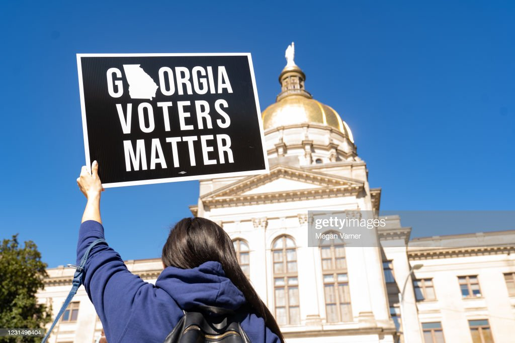 Voting Access Bill Sparks Controversy In Georgia : News Photo