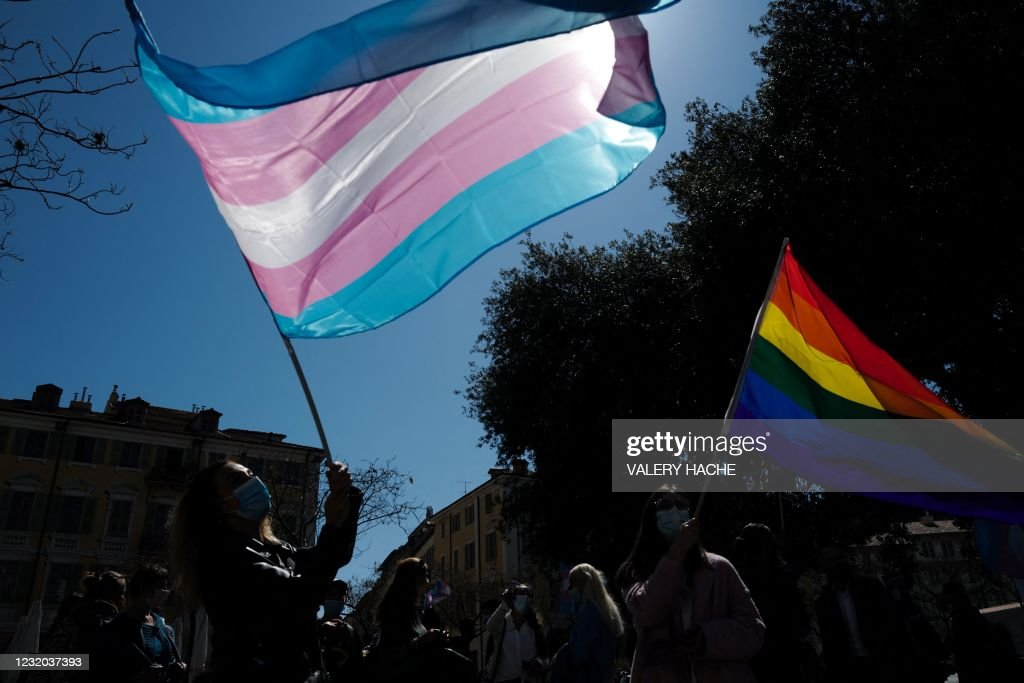 FRANCE-RIGHTS-GENDER : News Photo