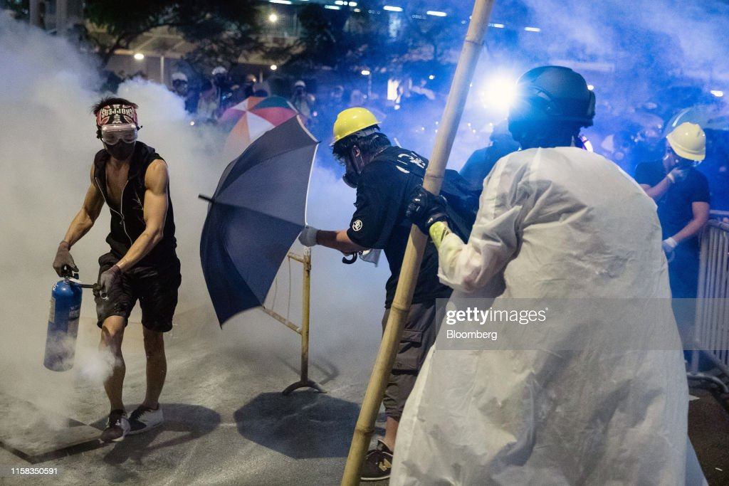 Hong Kong Braces for More Weekend Unrest After Tear Gas, Clashes : News Photo