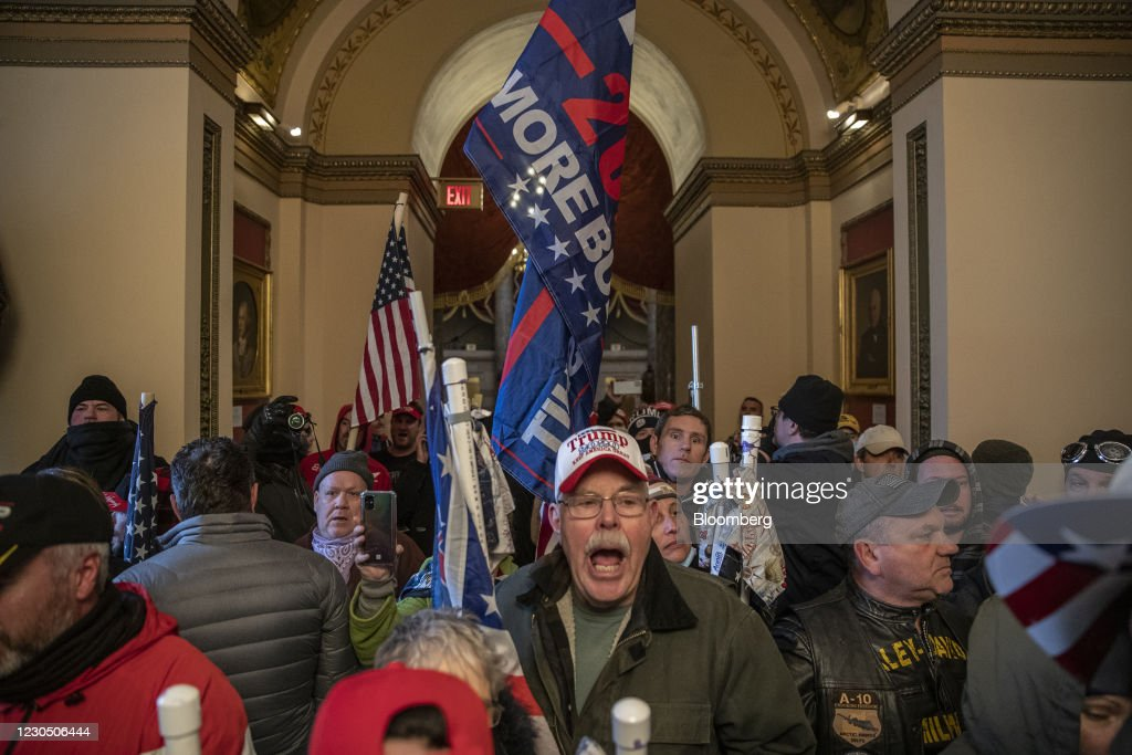 Protests As Joint Session Of Congress Confirms Presidential Election Result : News Photo