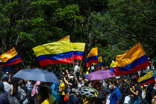 COL: S.O.S. Colombia Protest In Bogota