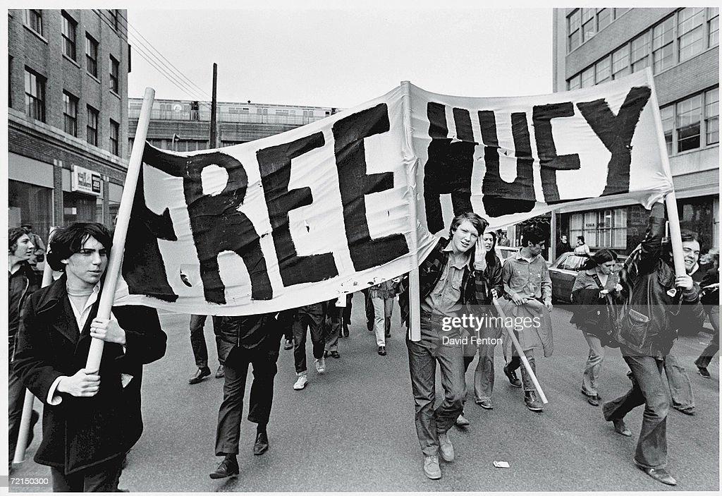 'Free Huey' Rally In NYC : News Photo