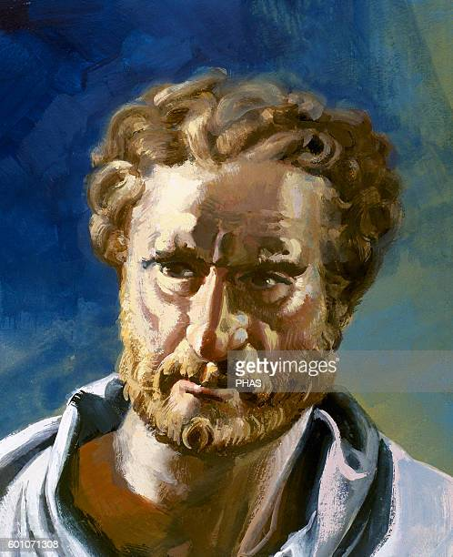 Demosthenes Political and Athenian orator Portrait