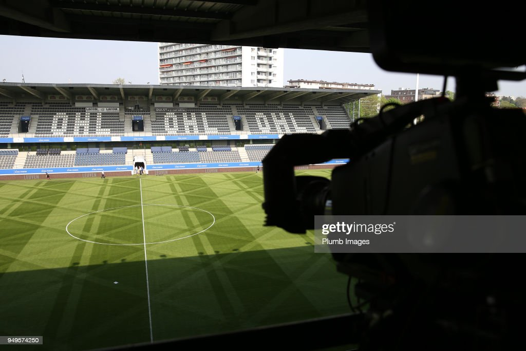OH Leuven v Royal Excel Mouscron: Belgian First Divison A Europa League Playoffs - Group Stage