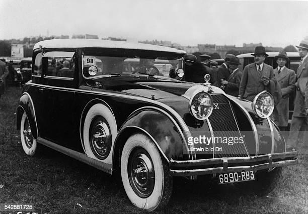 """Den ersten Preis für originelle Karosserie erhielt in Paris beim Concours d` Elegance dieser Citroen - Wagen"""" 1929"""