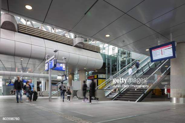 Den Haag Centraal Station in the Netherlands.