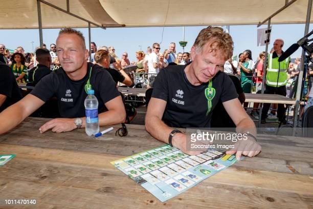 Den Haag Open Day coach Alfons Groenendijk of ADO Den Haag during the ADO Den Haag Open Day at the Cars Jeans Stadium on August 5 2018 in Den Haag...