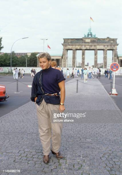 Den Harrow in August 1987 in Berlin