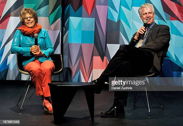 Dena Kaye and David Schwartz attend the Museum of the Moving Image Tribute to Danny Kaye at the Museum of the Moving Image on April 27 2013 in New...