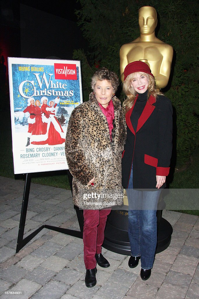 Dena Kaye (L) and Mary Crosby attend the Academy Of Motion Picture Arts and Sciences' presents it's a 'White Christmas' held at Oscars Outdoors on December 6, 2012 in Hollywood, California.