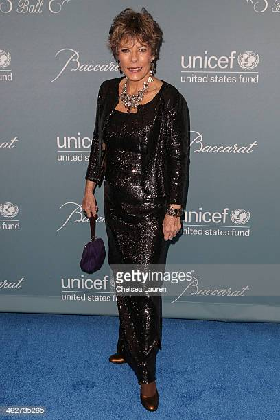 Dena Kaye arrives at the 2014 UNICEF Ball presented by Baccarat at Regent Beverly Wilshire Hotel on January 14 2014 in Beverly Hills California