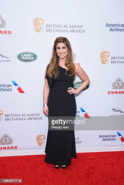 DeNah Angel attends the 2018 British Academy Britannia Awards presented by Jaguar Land Rover and American Airlines at The Beverly Hilton Hotel on...