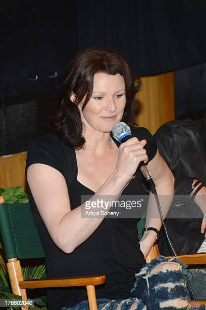 Denai Gracie attends the Australians In Film screening of Battle Ground on August 15 2013 in Los Angeles California