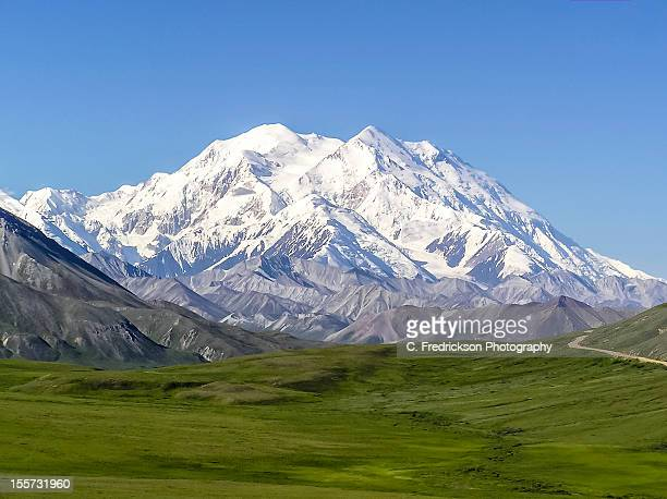 denali - mt. mckinley - mt mckinley stock photos and pictures
