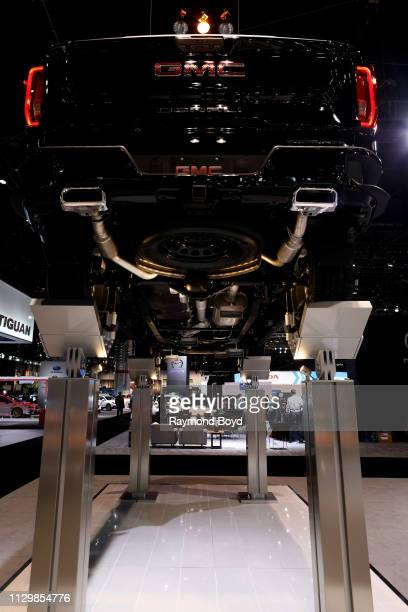 Denali Under Carriage is on display at the 111th Annual Chicago Auto Show at McCormick Place in Chicago, Illinois on February 7, 2019.