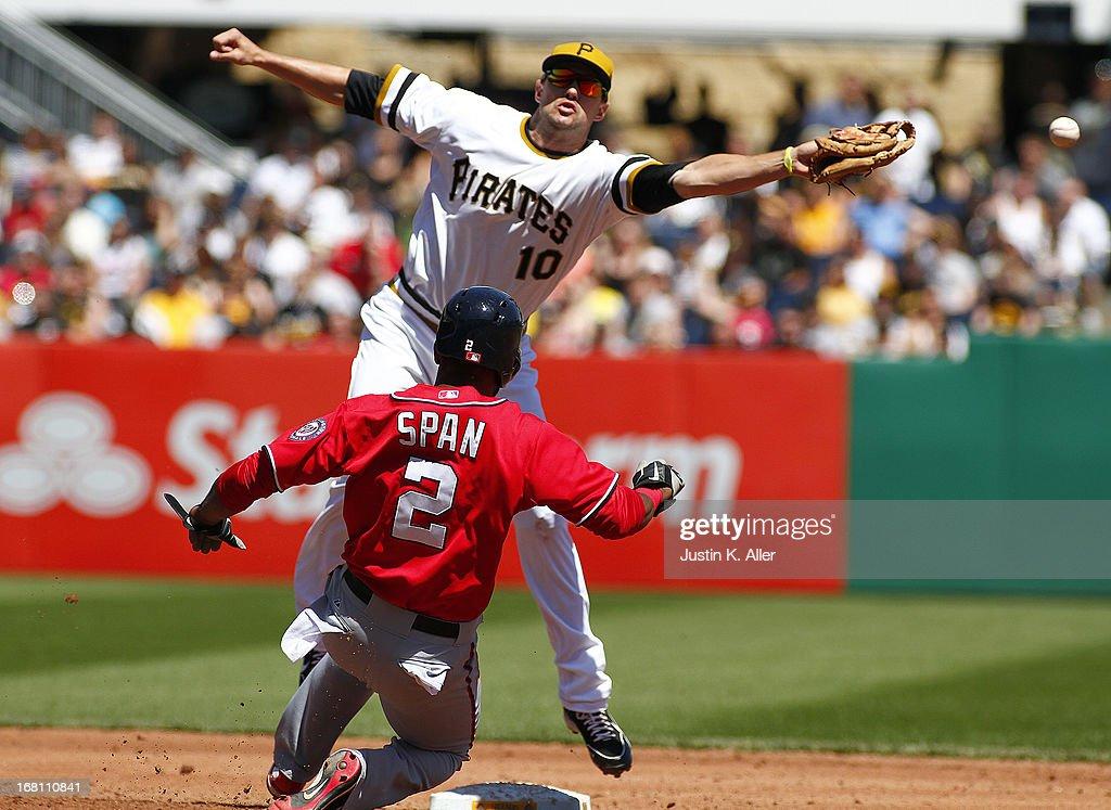 Washington Nationals v Pittsburgh Pirates : Nachrichtenfoto