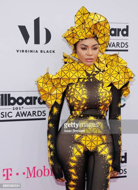 Dencia arrives at the 2017 Billboard Music Awards presented by Virginia Black at TMobile Arena on May 21 2017 in Las Vegas Nevada
