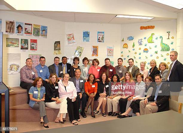 Dendrite volunteers participating at the recent JA led teaching event in Newark New Jersey