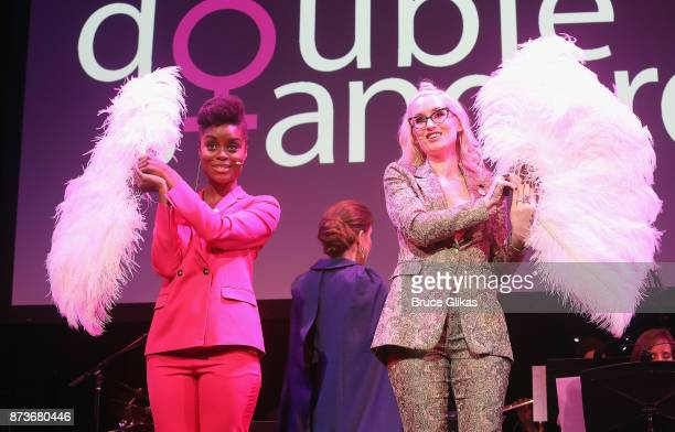 Denee Benton and Ingrid Michaelson perform in 'Double Standards' a concert benefitting womans rights heath and empowerment funding the ACLU National...