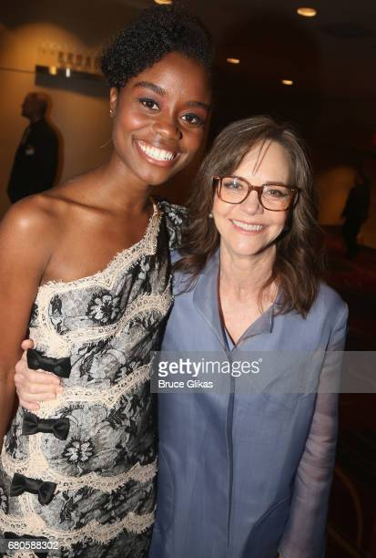 Denee Benton and Sally Field pose at the The 2017 Actors Fund Gala honoring Danny DeVito and Sally Field at The Marriott Marquis Times Square on May...