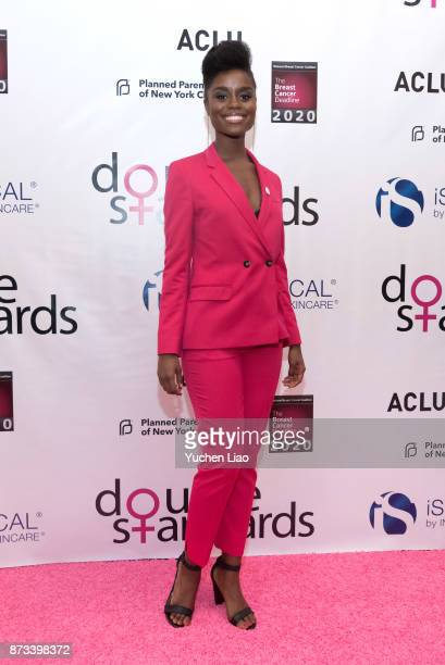 Denee Benton attends 'Double Standards' benefit concert celebrating Women's Rights at Town Hall on November 12 2017 in New York City