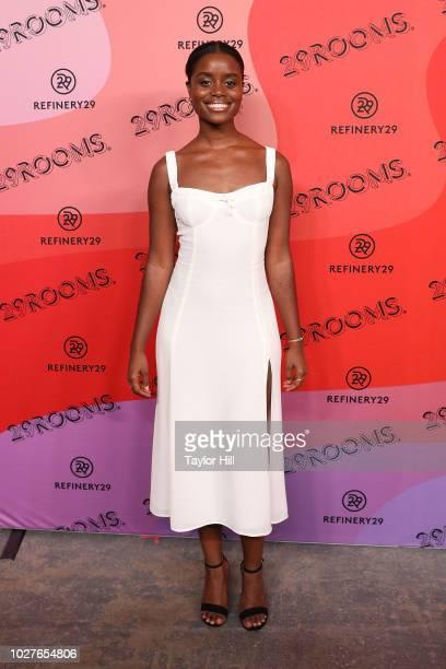 Denee Benton attends Refinery29's 29Rooms Opening Night on September 5 2018 in Brooklyn New York