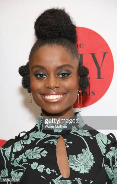 Denee Benton attends the 2017 Lilly Awards at Playwrights Horizons on May 22 2017 in New York City
