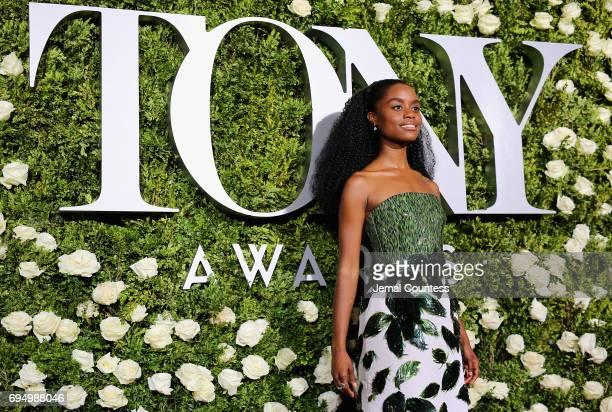 Denee Benton attends the 2017 Tony Awards at Radio City Music Hall on June 11 2017 in New York City