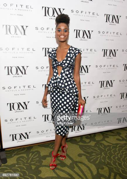 Denee Benton attends the 2017 Tony Honors cocktail party at Sofitel Hotel on June 5 2017 in New York City