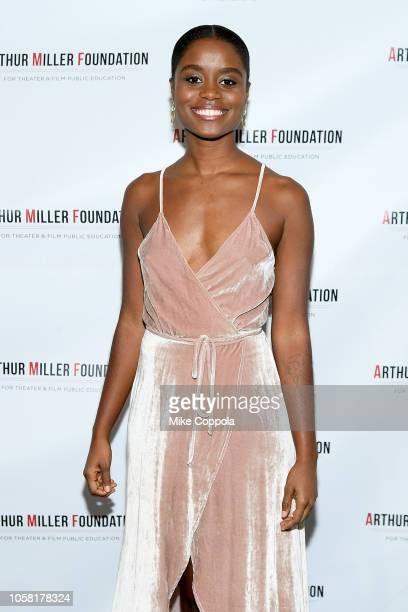Denee Benton attends the 2018 Arthur Miller Foundation Honors at City Winery on October 22 2018 in New York City