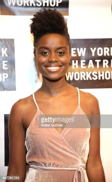 Denee Benton attends the 2018 New York Theatre Workshop Gala at the The Altman Building on April 16 2018 in New York City
