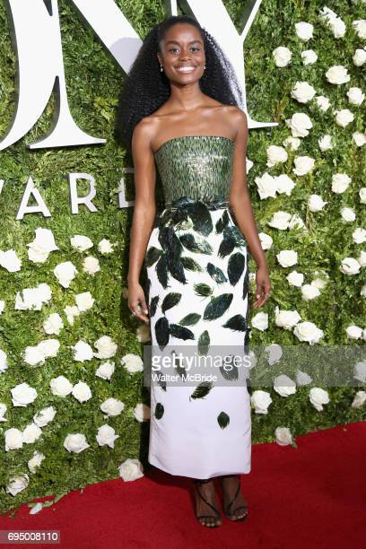 Denee Benton attends the 71st Annual Tony Awards at Radio City Music Hall on June 11 2017 in New York City