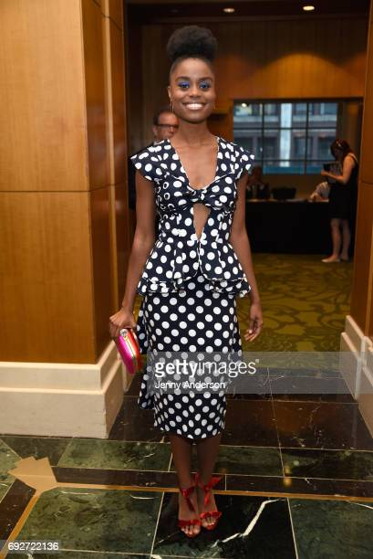 Denee Benton attends the Tony Honors Cocktail Party Presenting The 2017 Tony Honors For Excellence In The Theatre And Honoring The 2017 Special Award...