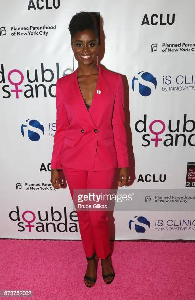 Denee Benton poses at 'Double Standards' a concert benefiting womans rights heath and empowerment funding the ACLU National Breast Cancer Coalition...