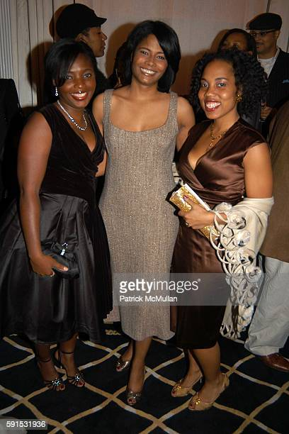 Denene Millner Angela BurtMurray and Mitzi Miller attend Amistad Hosts The Vow Publication Party at The House of Harry Winston on November 2 2005 in...