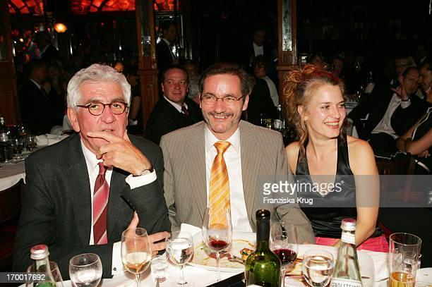 Denes Törzs Prime Minister of Brandenburg Matthias Platzeck And Jeanette Jesorka At the 60th Birthday of Dagmar_Ferderic In Berlin 150405