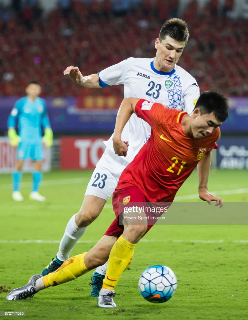 Must see China World Cup 2018 - deng-hanwen-of-china-fights-for-the-ball-with-eldor-shomurodov-of-picture-id872717586  Collection_1001691 .com/photos/deng-hanwen-of-china-fights-for-the-ball-with-eldor-shomurodov-of-picture-id872717586