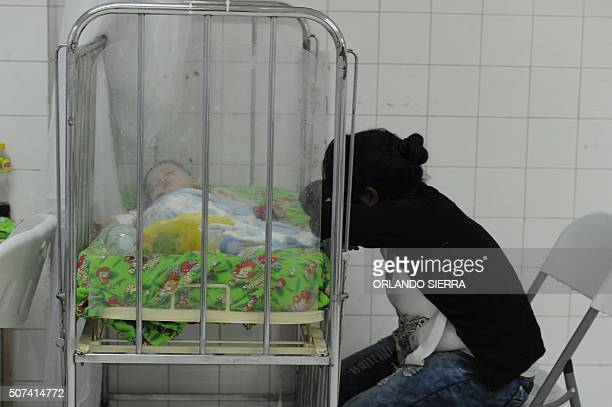 A dengue fever patient is treated at Hospital Escuela Universitario in Tegucigalpa on January 29 2016 The mosquitoes which carry dengue usually...