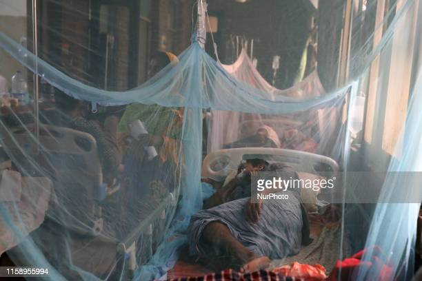 Dengue infected patients are seen hospitalised at the Shaheed Suhrawardy Medical College and Hospital in Dhaka Bangladesh on August 2 2019