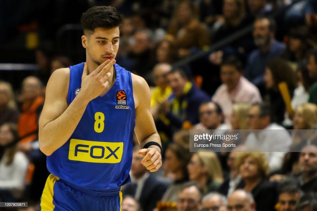 EuroLeague: Valencia Basket V Maccabi Tel Aviv : News Photo