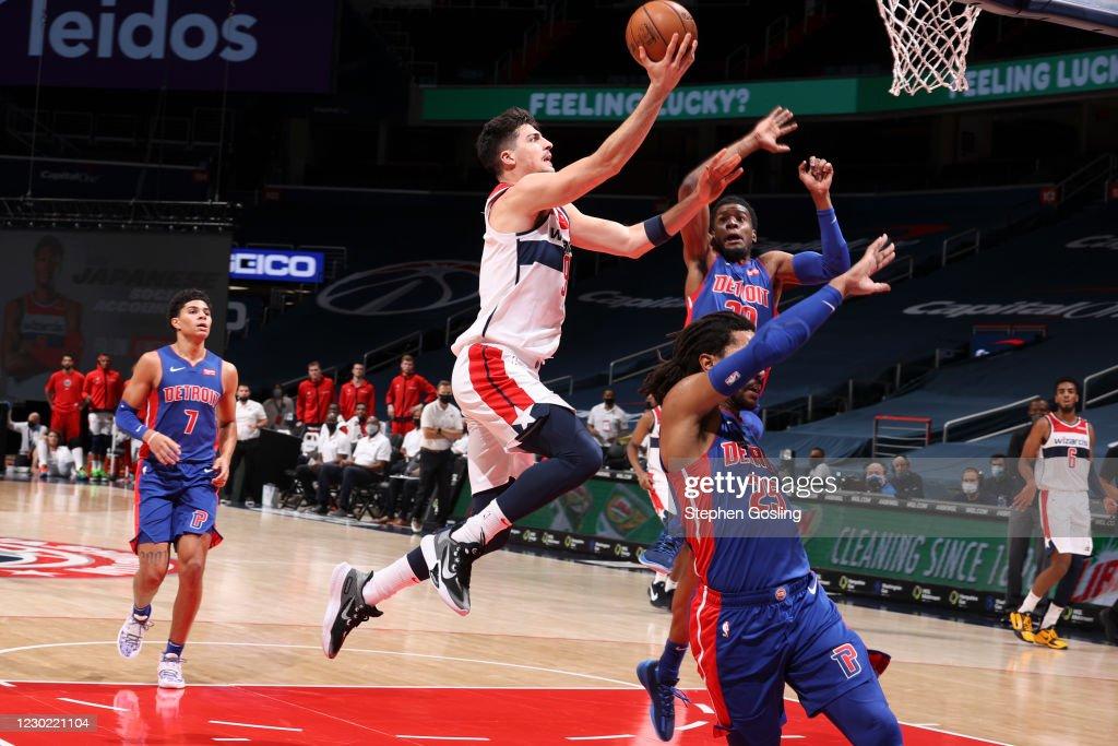 Detroit Pistons v Washington Wizards : News Photo