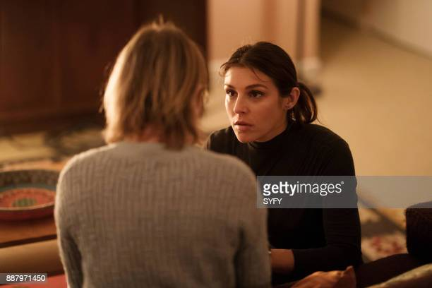 HAPPY 'Denial Ain't Just a River' Episode 102 Pictured Lili Mirojnick as Detective Meredith McCarthy