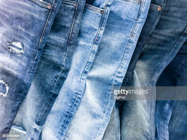 denim jeans texture - jeans stock pictures, royalty-free photos & images